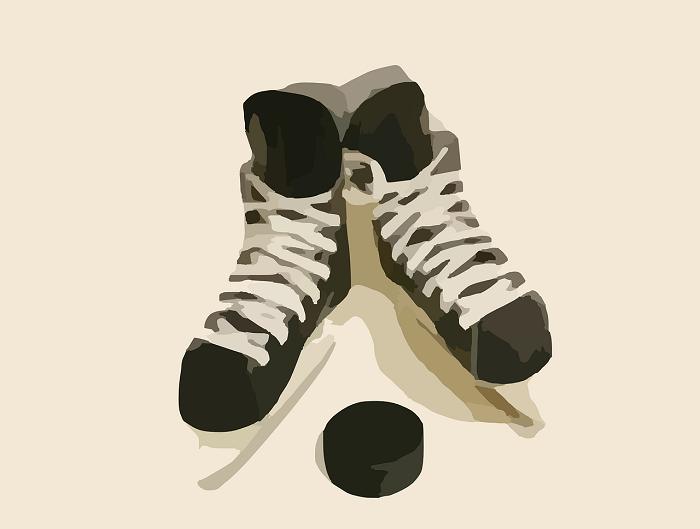 Hokejové korčule bývajú väčšinou čierne